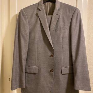 John Varvatos Men's gray suit